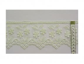 LACE - WIDTH 90 mm, PACKET - 9 m, ORGANZA