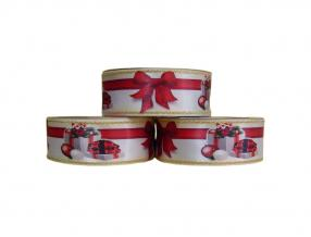 CHRISTMAS DECORATIVE TAPE - WIDTH 38 mm, ROLL - 20 m