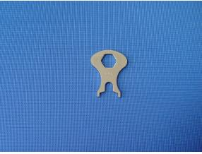 SPANNER FOR MOUNTING OF SNAP BUTTONS - UPPER AND LOWER PART
