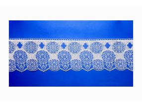 LACE - WIDTH 120 mm, PACKET - 9 m, TULLE