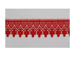 LACE TUPE BRUSSELS - WIDTH 80 mm, PACKET - 9 m
