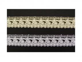LACE TUPE BRUSSELS - WIDTH 45 mm, PACKET - 9 m