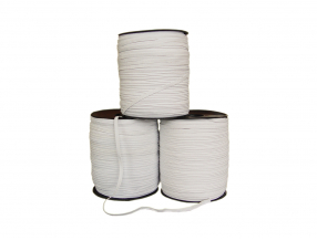 KNIFFED ELASTIC BRAND; WIDTH - 5 mm; LENGTH - 200 m