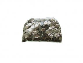 SEQUINS; PLASTIC; SIZE - 8 mm; PACKADE