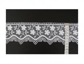 LACE - WIDTH 80 mm, PACKET - 9 m, ORGANZA