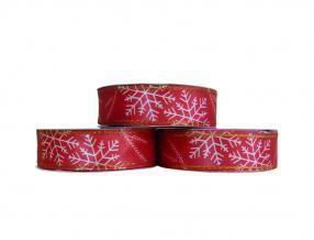 CHRISTMAS DECORATIVE TAPE - WIDTH 30 mm, ROLL - 20 m