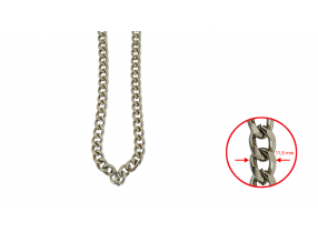 CHAINS; METAL; 11.5 mm; THE PRICE IS FOR 1 METER