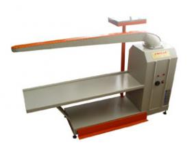 IRONING TABLE FOR PANTS CREASES WITH VACUUM AND HEATING AREA