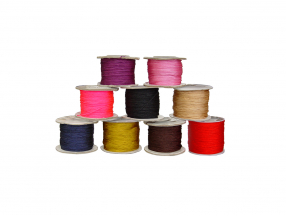 THREAD, KNITTED, POLYESTER, THICKNESS 0.8 mm; 50 m