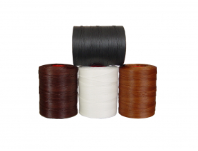 TREAD, BRAIDED, WAXED FOR HAND SEWING, THICKNESS 1.5 mm; 400 m