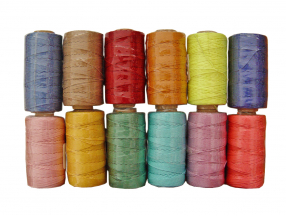 THREAD KNITTED, POLYESTER, THICKNESS 0.8 mm; 100 m